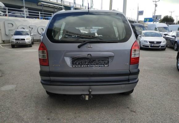 Opel Zafira Lpg